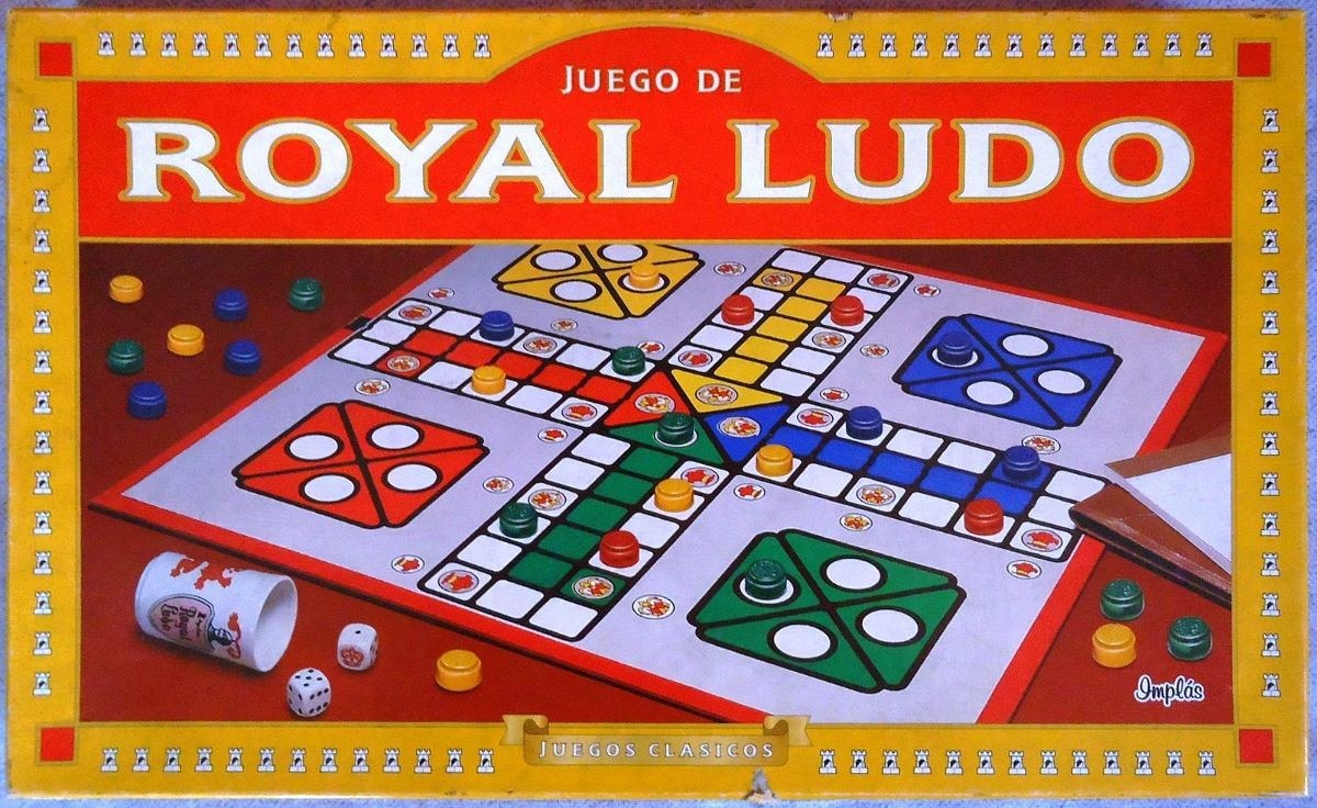 Juego De Mesa Royal Ludo Nupro En La Plata 260 00 En Mercado Libre