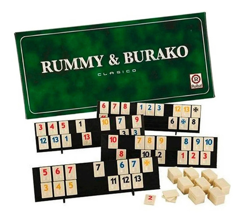 juego de mesa rummy burako clasico ruibal