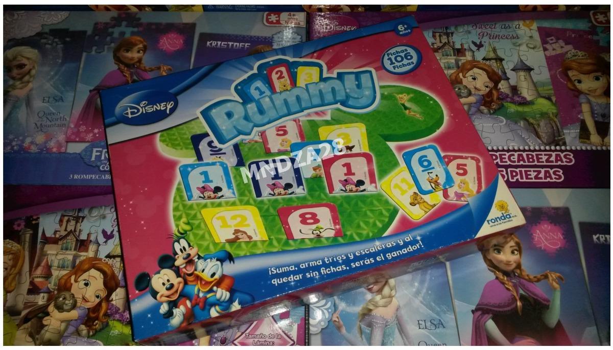 Juego De Mesa Rummy Disney Infantil K Bs 44 000 00 En Mercado Libre
