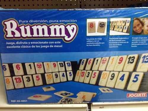 Juego De Mesa Rummy Edicion De Coleccion Bs 14 900 00 En Mercado