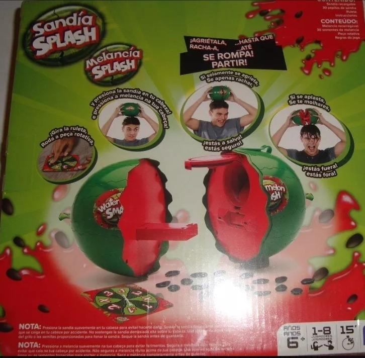 Juego De Mesa Sandia Splash 900 00 En Mercado Libre