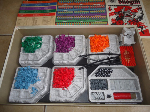 juego de mesa shogun milton bradley gamemaster series 1986