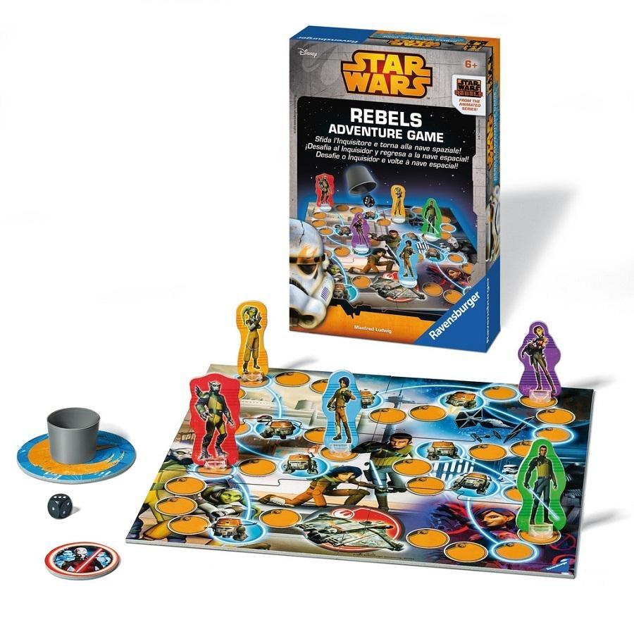 Juego De Mesa Star Wars Rebelion 249 00 En Mercado Libre