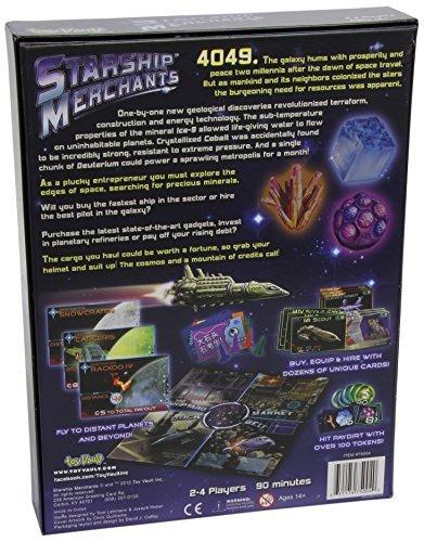 juego de mesa starship merchants bóveda de juguete