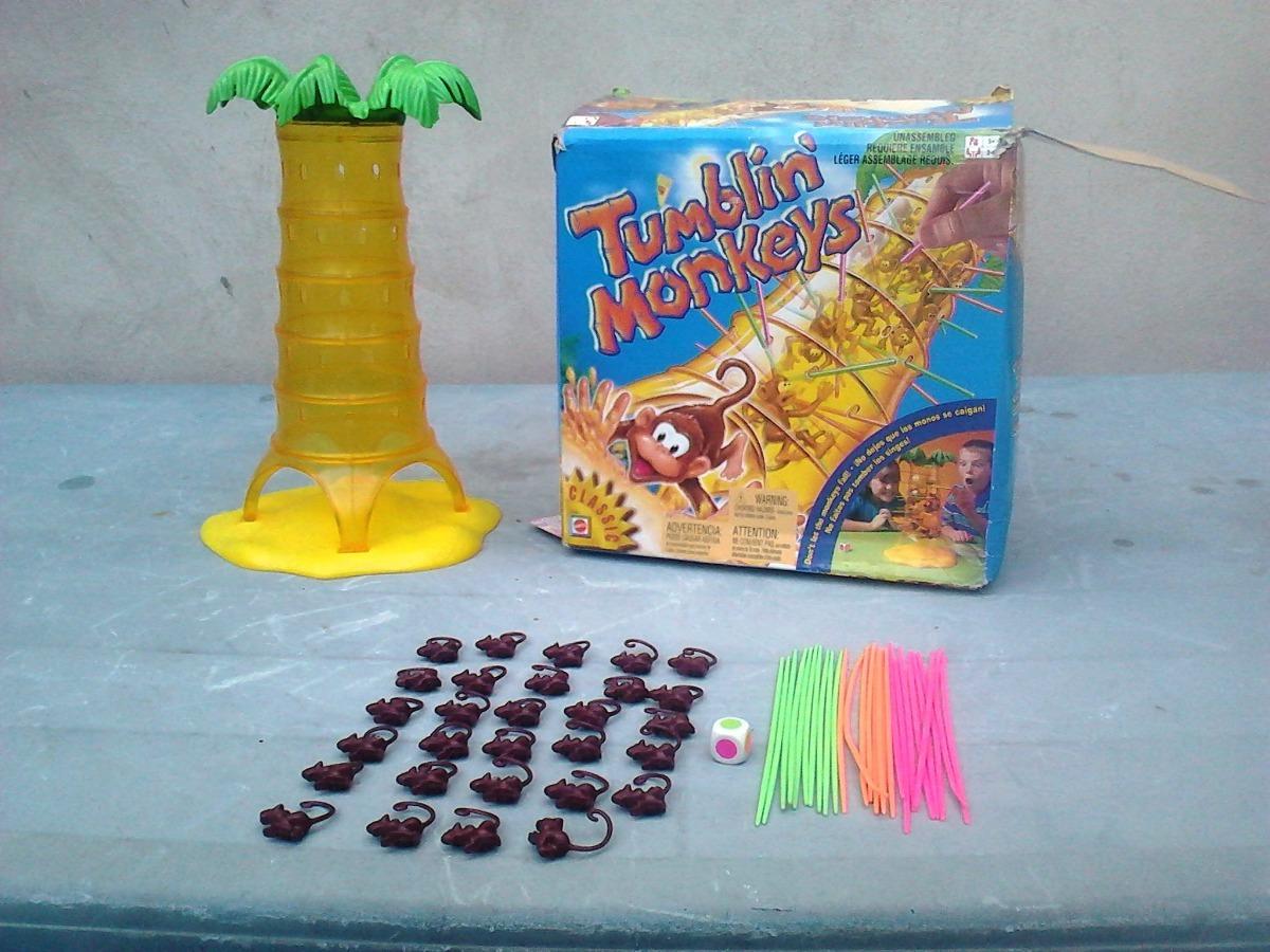 Juego De Mesa Super Divertido Monos Locos Tumblin Monkeys Bs
