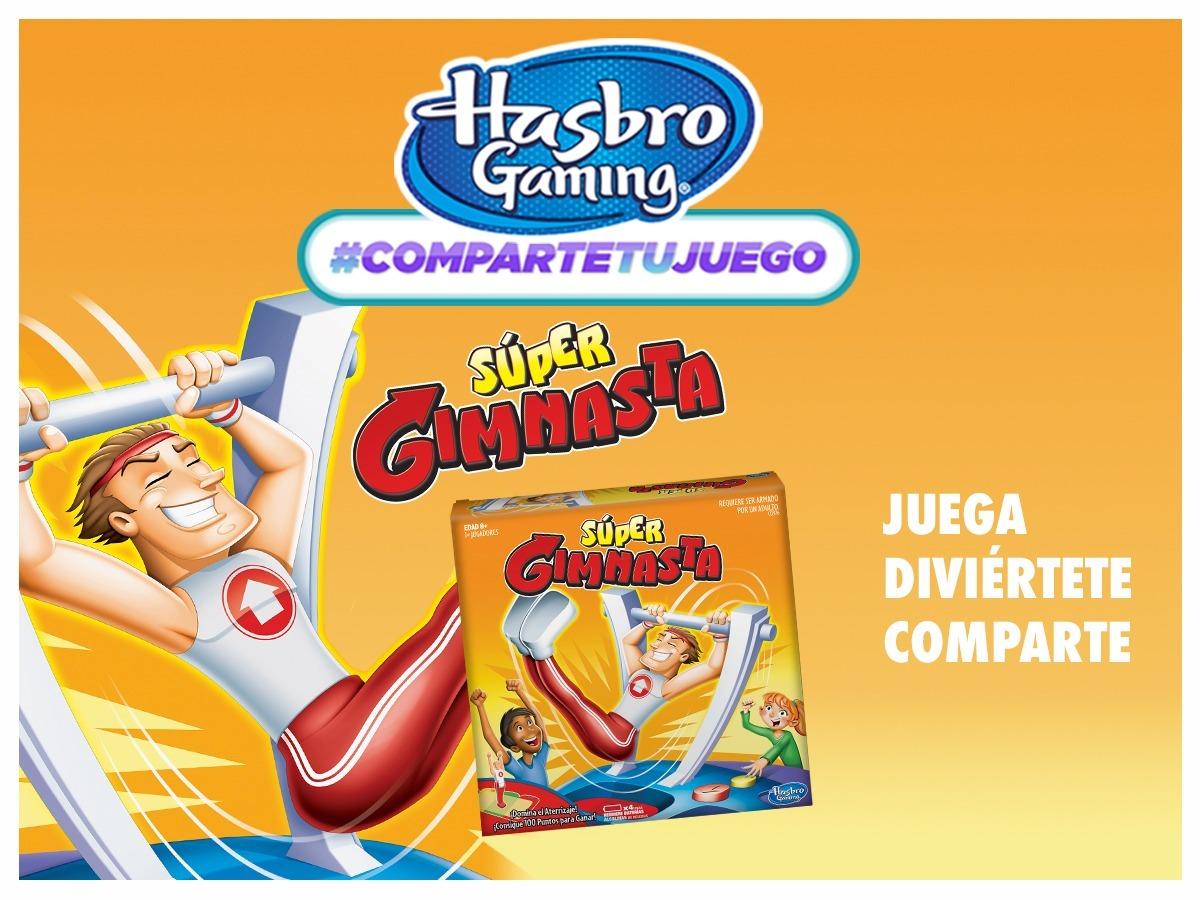 Juego De Mesa Super Gimnasta Domina El Aterrizaje Hasbro 1 799