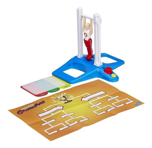 juego de mesa super gimnasta - hasbro