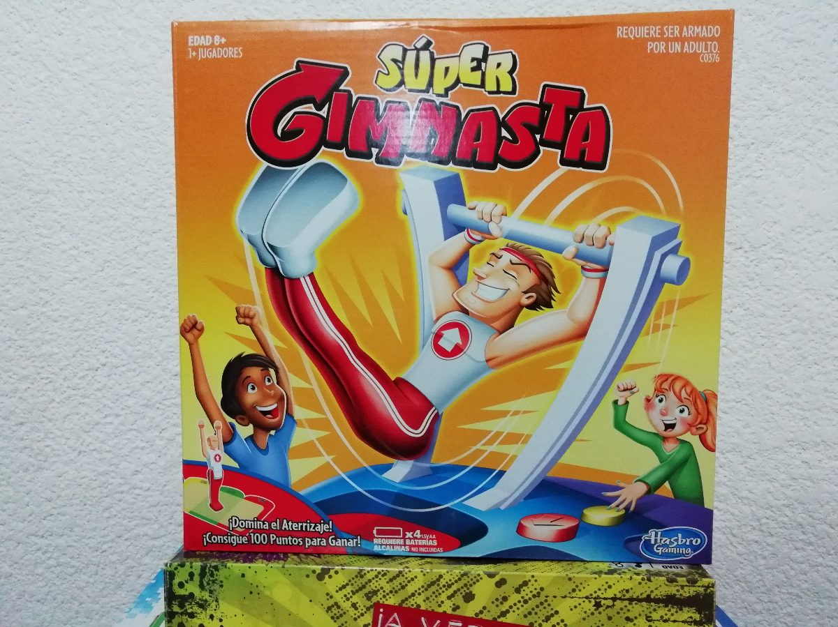 Juego De Mesa Super Gimnasta Hasbro Gaming 219 00 En Mercado Libre