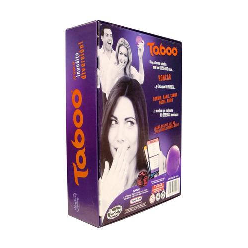 juego de mesa taboo original hasbro (3679)