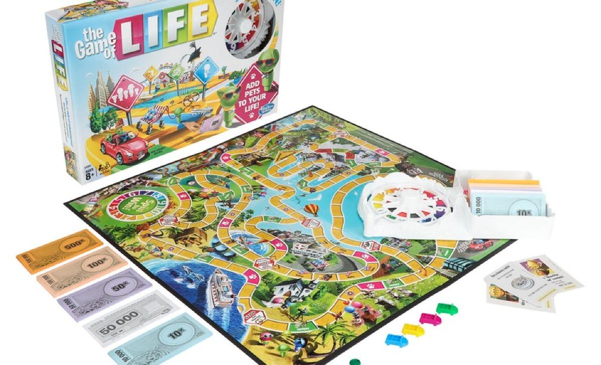 Juego De Mesa The Game Of Life Game 2 4 Jugadores Sk 699 00 En