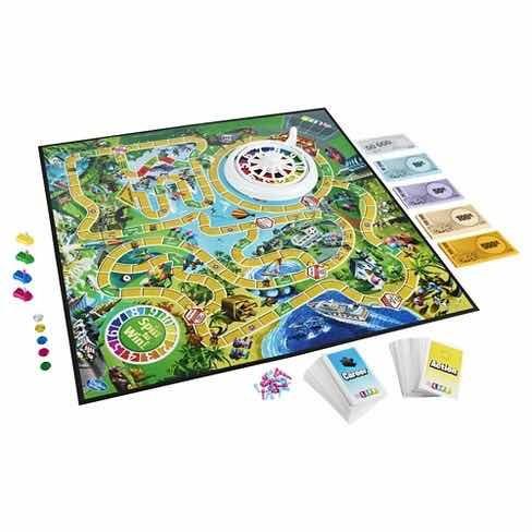 Juego De Mesa The Game Of Life Hasbro Gaiming En Ingles 29 990