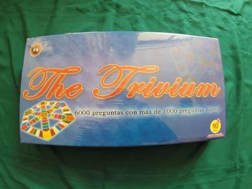 juego de mesa the trivium trivia - nuevo y sellado / diverti