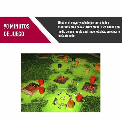 Juego De Mesa Tikal Envio Gratis Proglobal 54 990 En Mercado Libre
