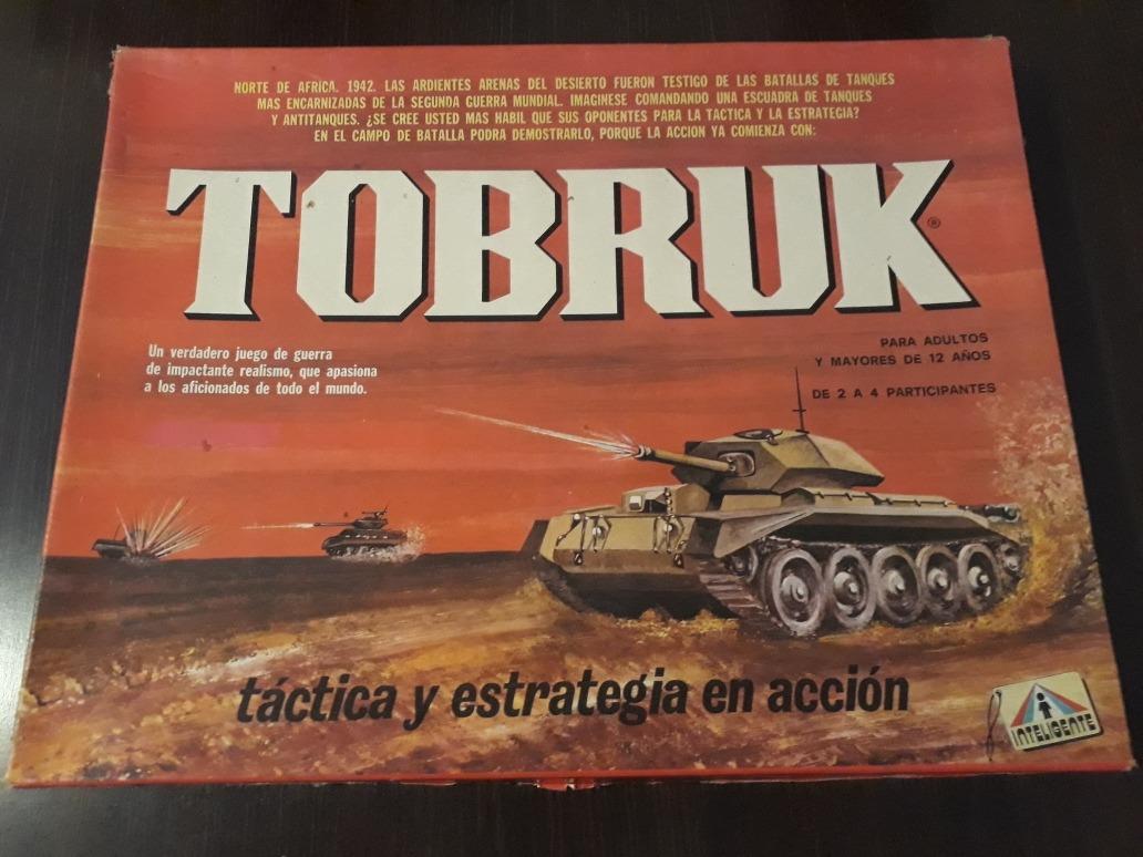 Juego De Mesa Tobruk 2da Guerra Mundial Excelente Unico 599 00
