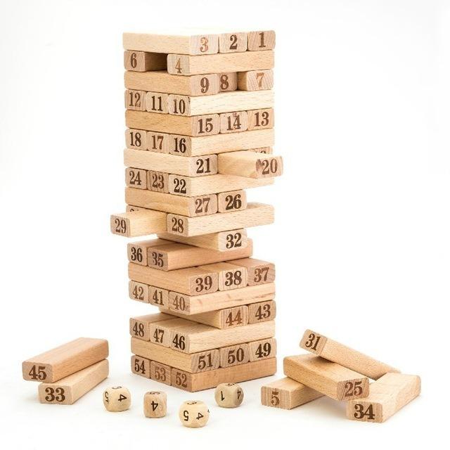 Juego De Mesa Torre De Madera Toy Store 3 990 En Mercado Libre