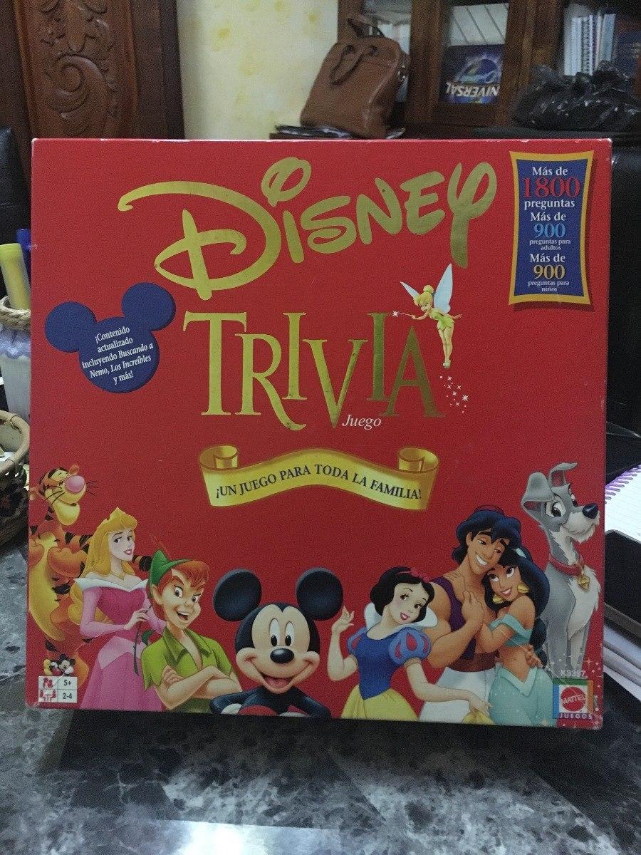 Juego De Mesa Trivia Disney Preguntas Y Respuestas Peliculas Bs