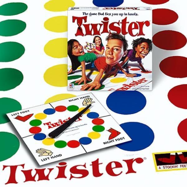 Juego De Mesa Twister 6 Anos Hasbro Original Zona Devoto