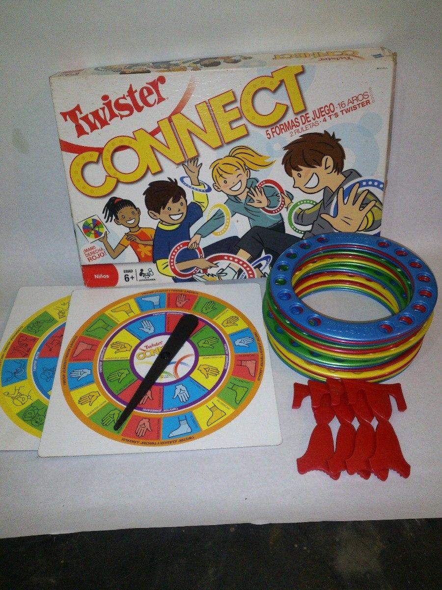 Juego De Mesa Twister Connect Hasbro Ninos Mas De 6 Anos Bs 4 500