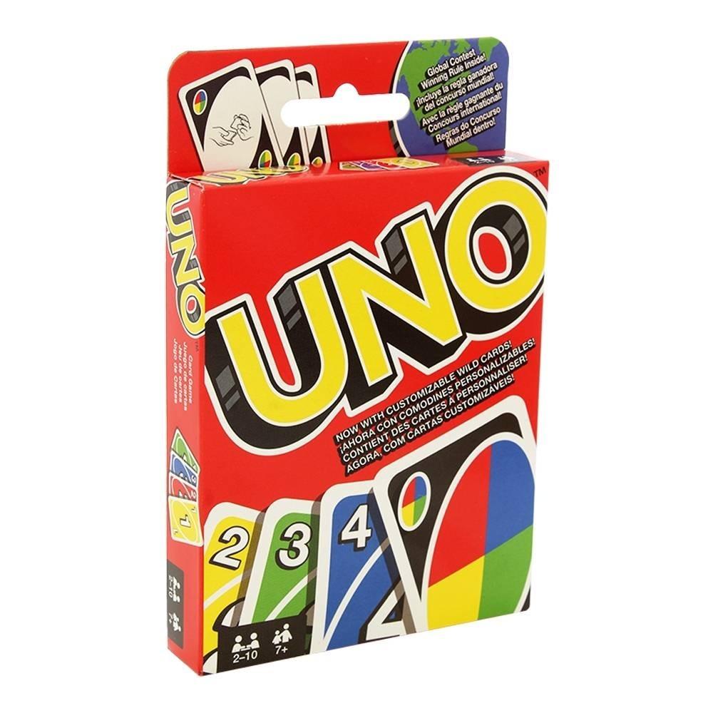 Juego De Mesa Uno Cartas El Clasico 229 00 En Mercado Libre