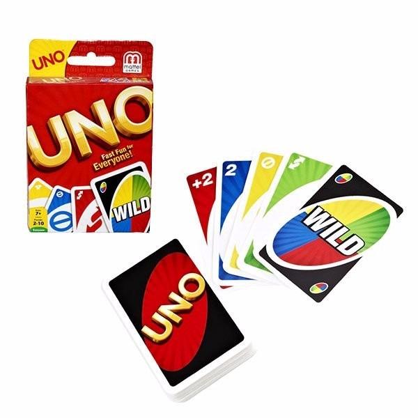 Juego De Mesa Uno Cartas Games Clasico 198 99 En Mercado Libre