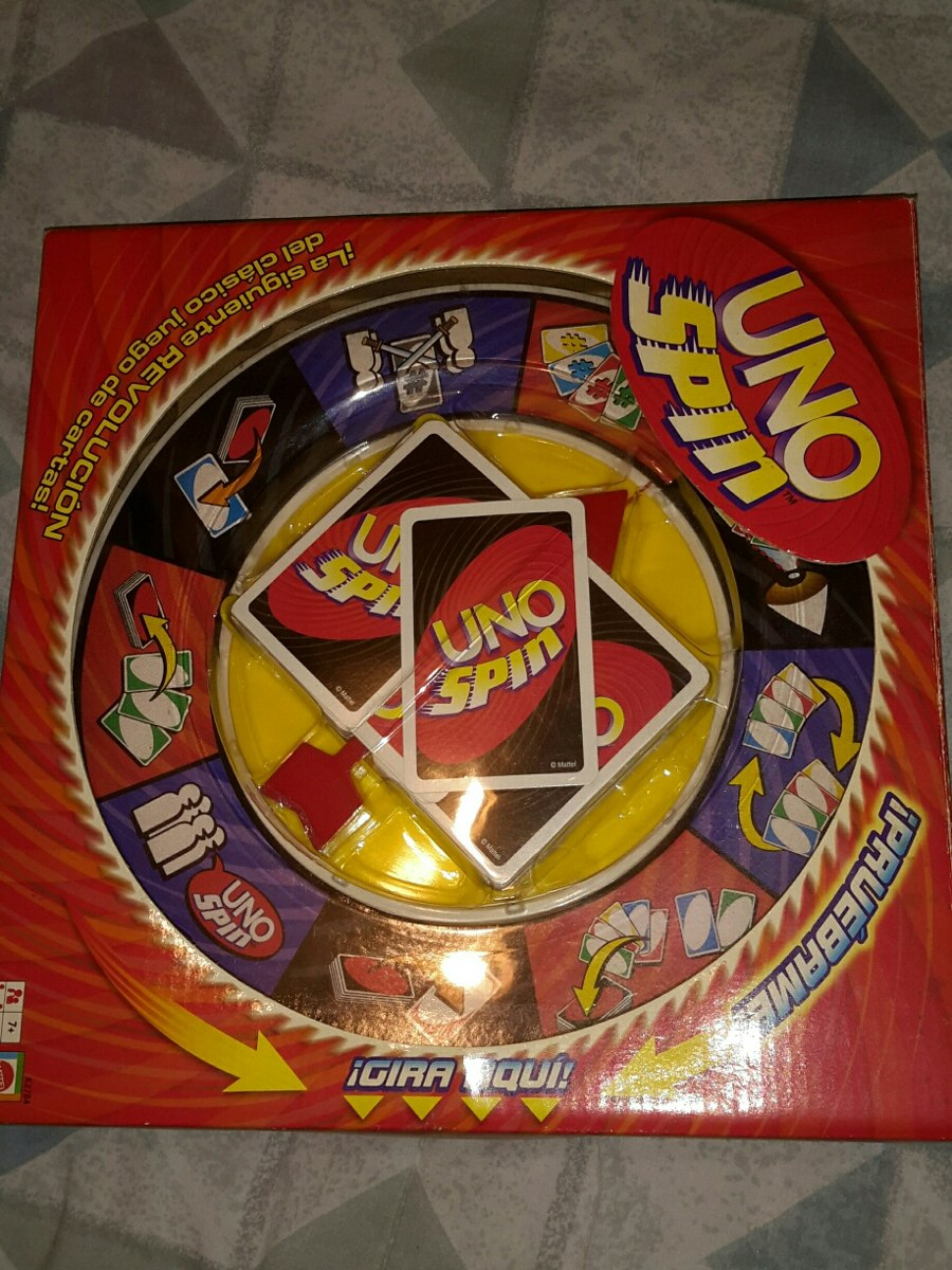 Juego De Mesa Uno Spin 20 Trumps Bs 500 00 En Mercado Libre