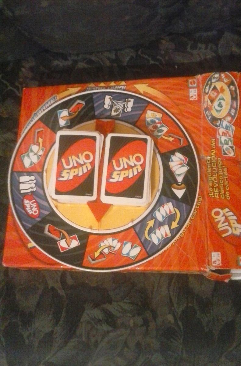 Juego De Mesa Uno Spin Bs 9 900 00 En Mercado Libre