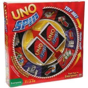 Juego De Mesa Uno Spin Mattel 460 00 En Mercado Libre