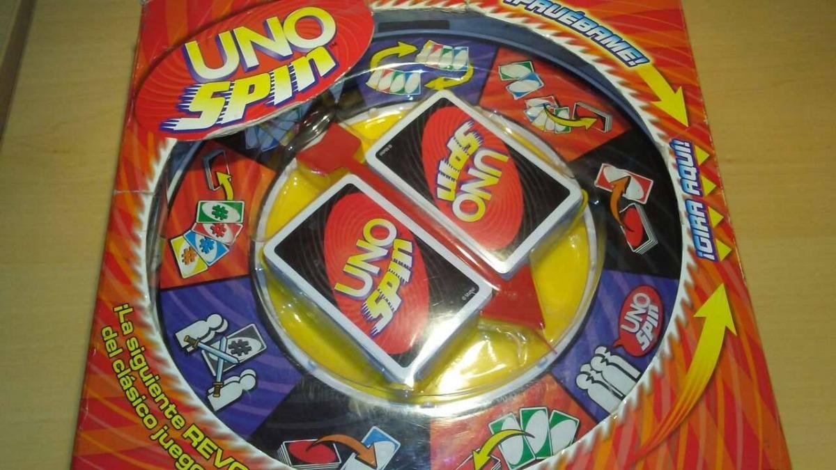 Juego De Mesa Uno Spin Usado Excelentes Condiciones Bs 16 500