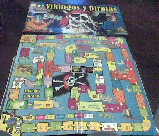 Juego De Mesa Vikingos Y Piratas 250 00 En Mercado Libre