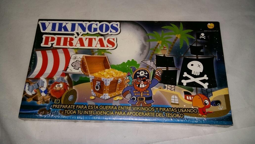 Juego De Mesa Vikingos Y Piratas 90 00 En Mercado Libre