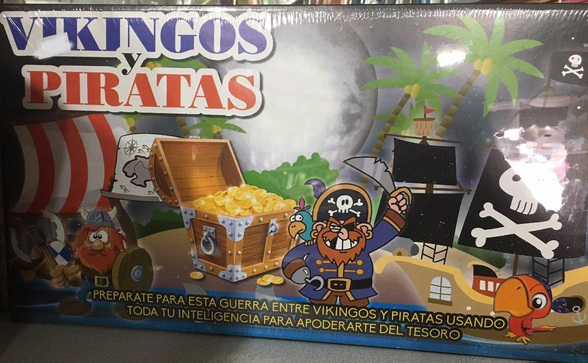 Juego De Mesa Vikingos Y Piratas 110 00 En Mercado Libre