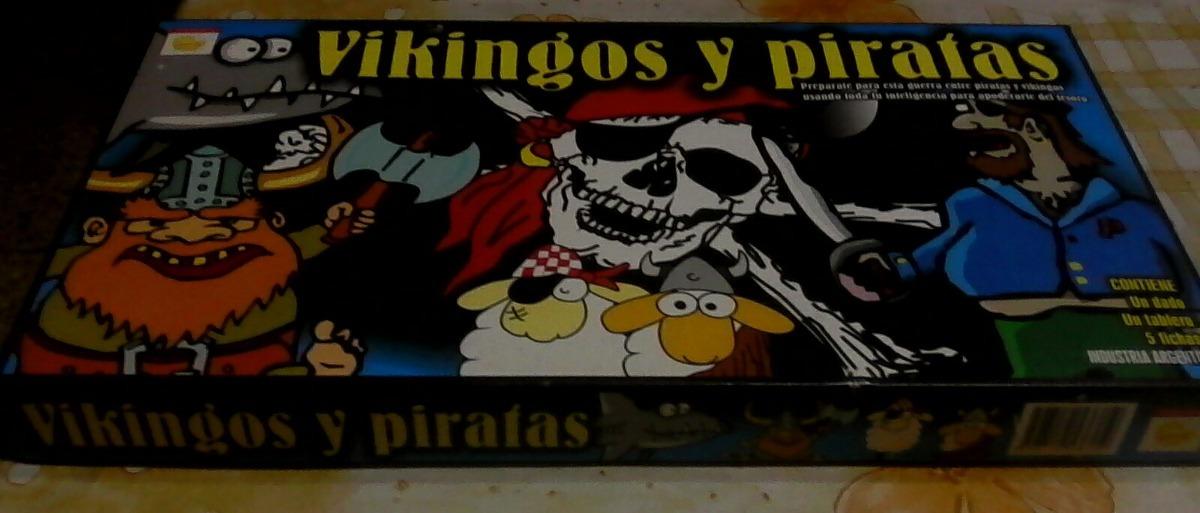 Juego De Mesa Vikingos Y Piratas En Excelente Estado 120 00 En