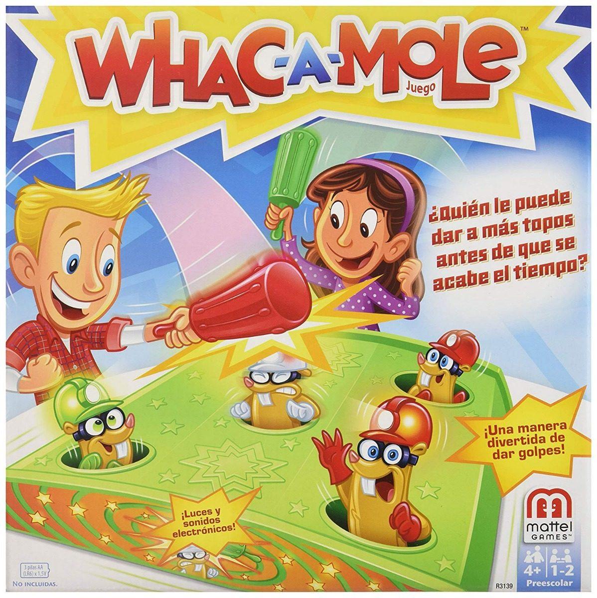 Juego De Mesa Whac A Mole Juego De Mesa Mattel Games 533 00 En