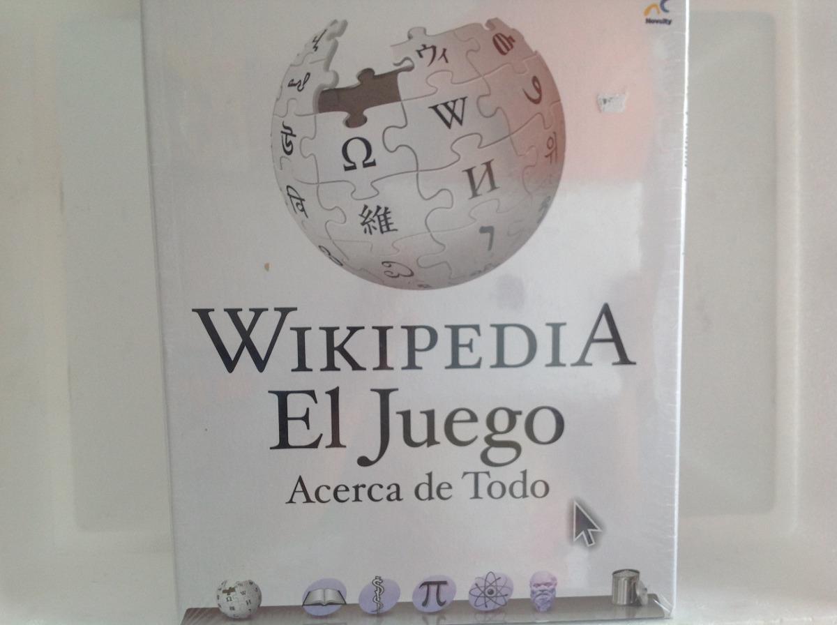 Juego De Mesa Wikipedia 249 00 En Mercado Libre