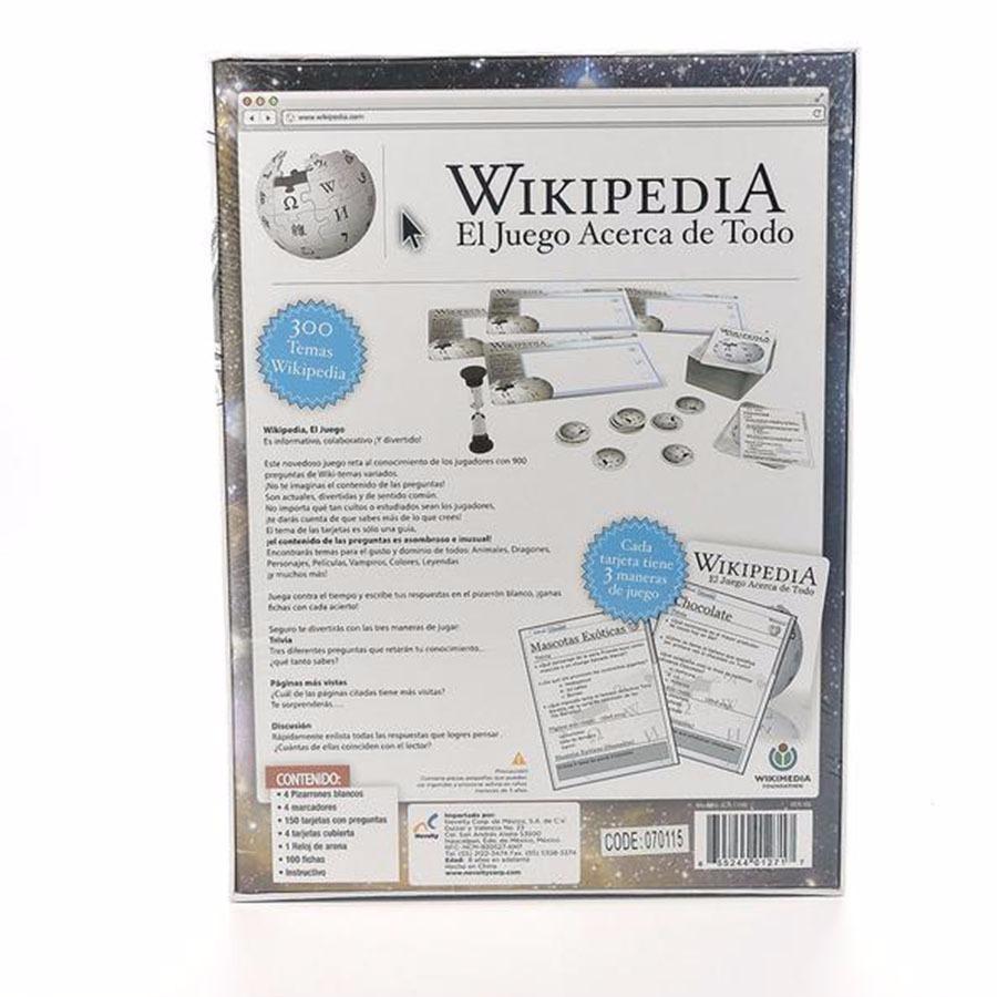 Juego De Mesa Wikipedia El Juego Acerca De Todo 383 00 En