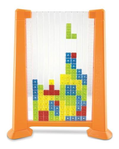 juego de mesa xetrix con base para las piezas y dado
