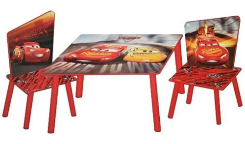 juego de mesa y sillas cars frozen mickey  para niños disney
