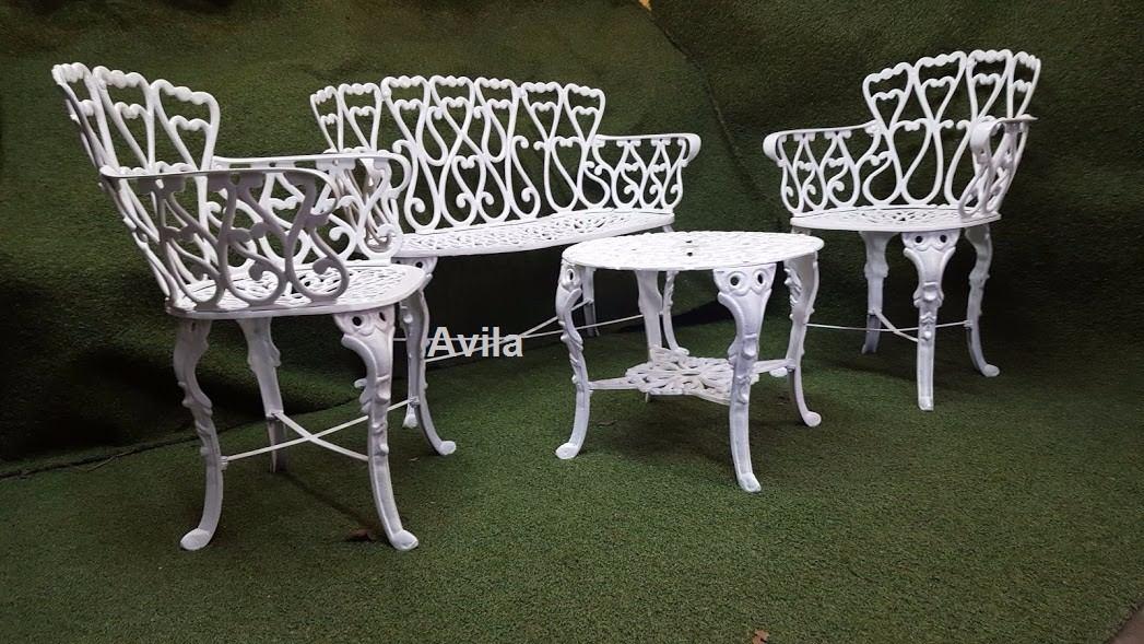 Juego de mesa y sillas para jardin 4 en mercado for Juego de mesa y sillas