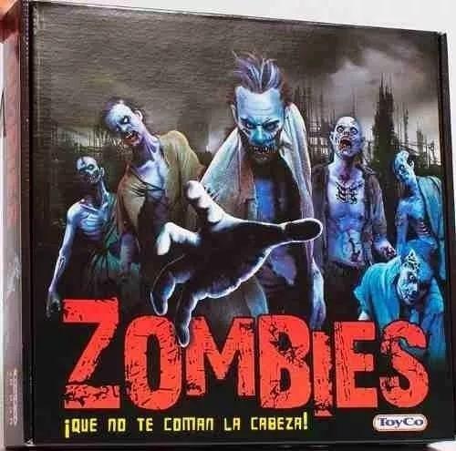 juego de mesa zombies original toyco novedad