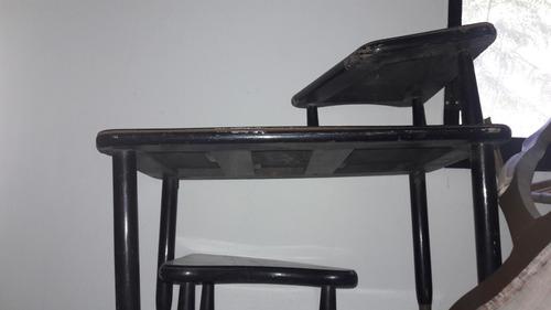 juego de mesas de madera