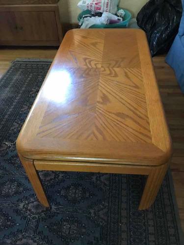 juego de mesas de madera (seminuevas) puebla