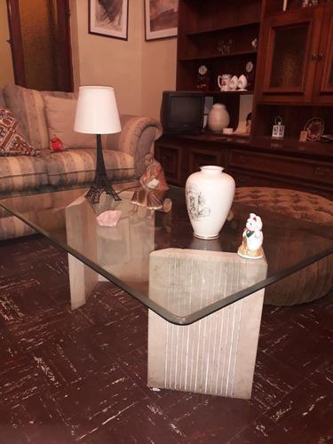 juego de mesas de sala de mármol