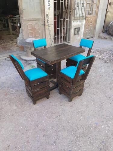 juego de mesas y sillas para negocio económicos envio gratis