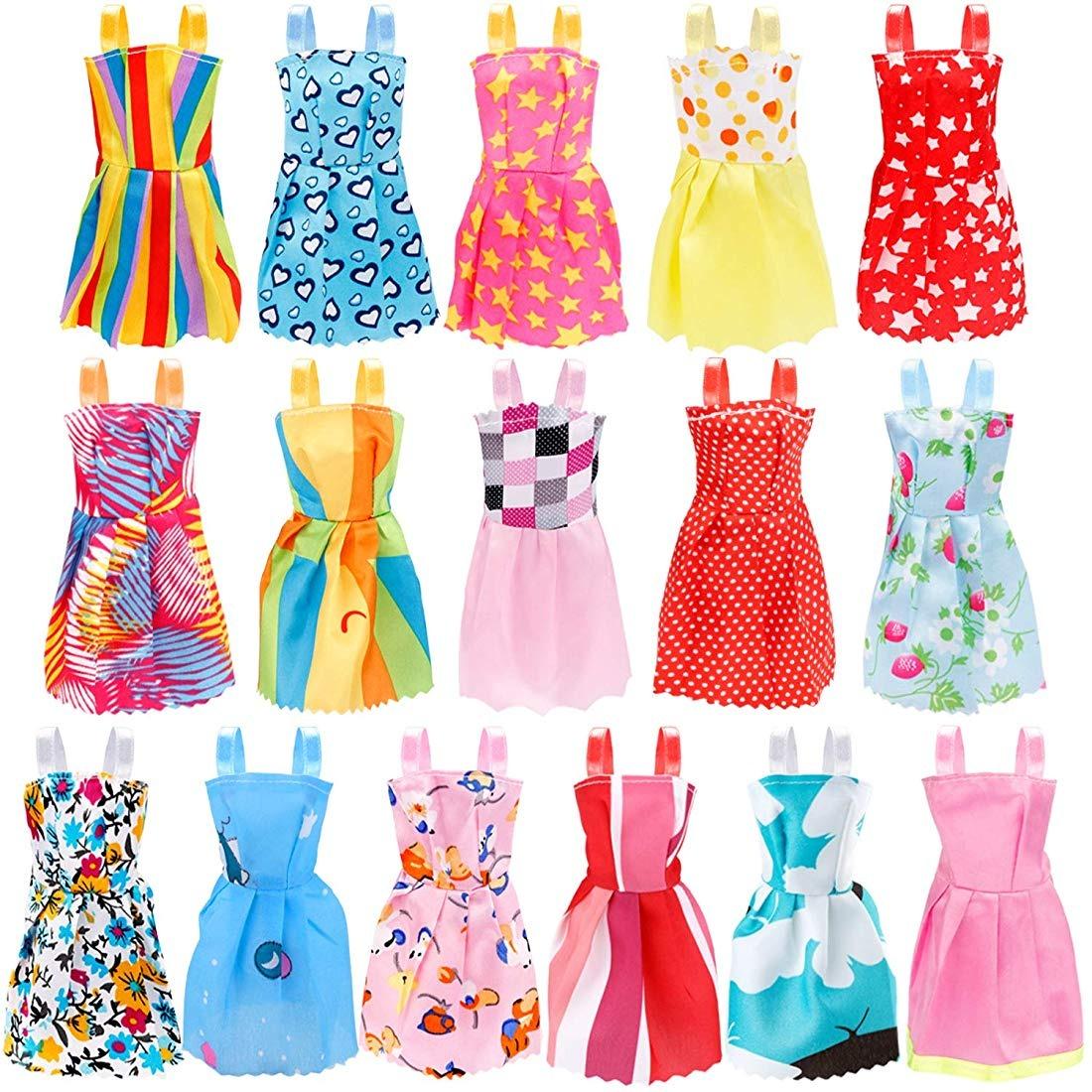 Juego De Moda Para Muñecas De 73 Piezas Para Vestir A Las Mu
