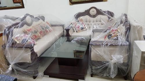 juego de mueble en caoba
