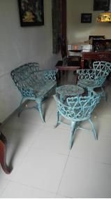 Juego De Muebles De Aluminio Para Terraza O Patio
