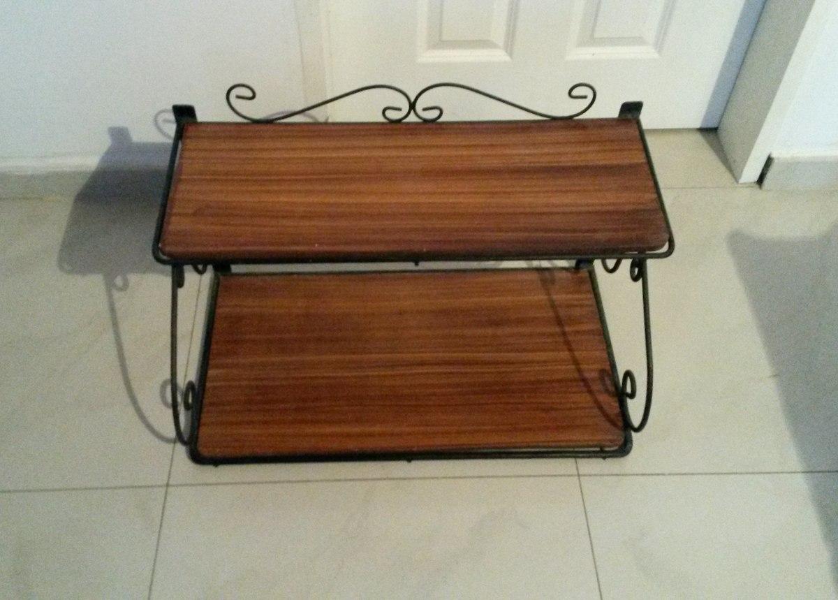 Juego de muebles de madera con hierro forjado bs - Muebles de madera y hierro ...