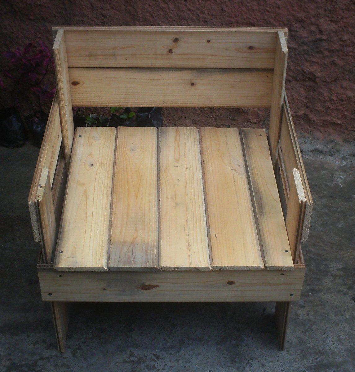 juego de muebles de madera de pino bs 0 85 en mercado libre