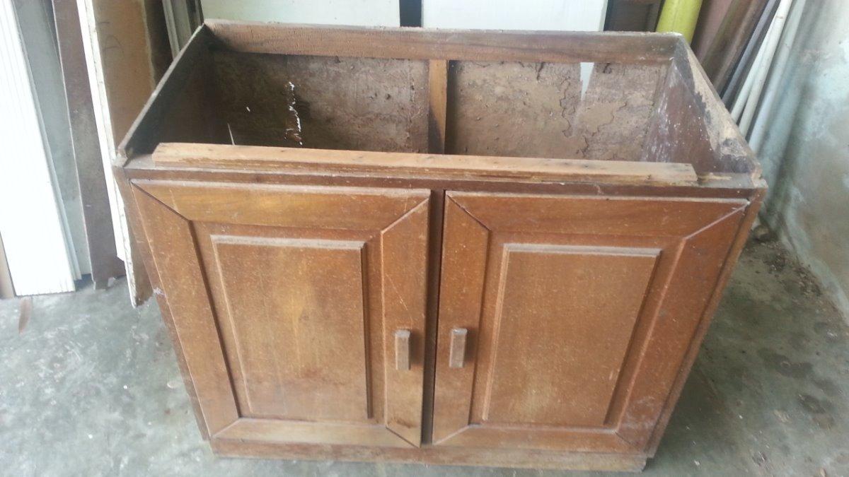 Juego De Muebles De Madera Para Cocina - Bs. 1.500.000,00 en Mercado ...