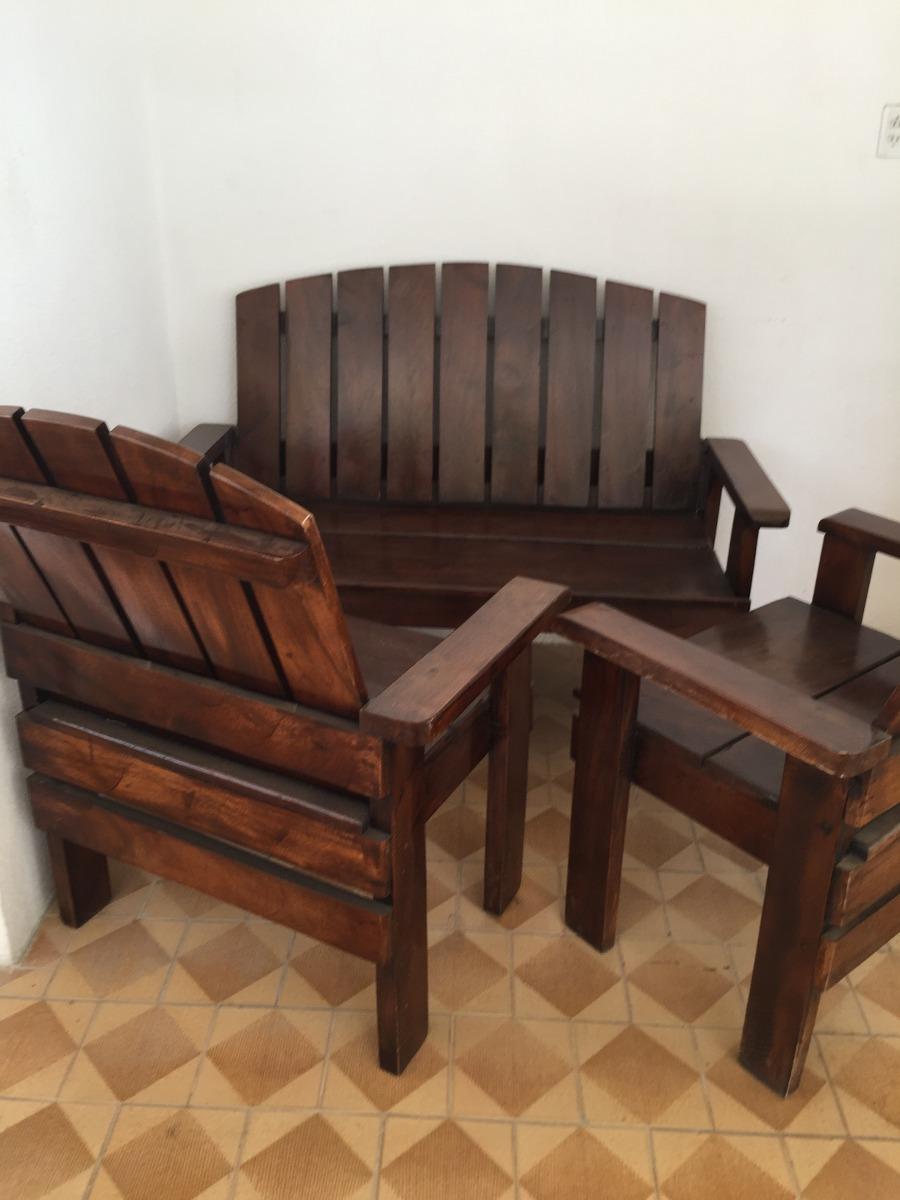 Juego de muebles de madera pura usados bs for Muebles con madera